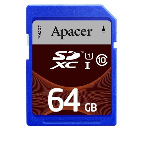 Apacer SDXC/SDHC UHS-I Class 10