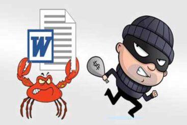 دزدی از نرمافزار محبوب Word!