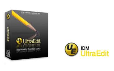 نرم افزار ویرایشگر IDM UltraEdit