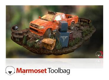 نرم افزار رندر آبجکت های سه بعدی Marmoset Toolbag