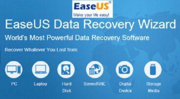 معرفی نرم افزار EaseUS Data Recovery Wizard