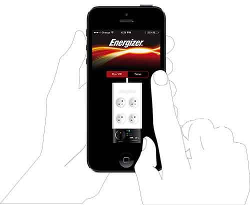 اپلیکیشن کنترل چند راهی انرجایزر برای اندروید Power_MTV2