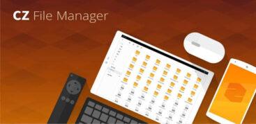 اپلیکیشن مدیریت فایل CZ File Manager