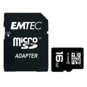 Emtec Micro SDHC Class4 silver