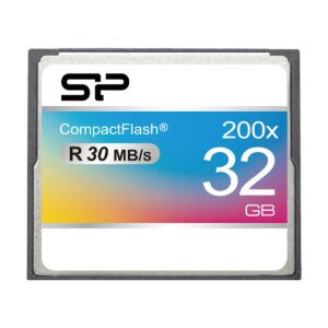 SiliconPoewr 200X Compact Flash Card