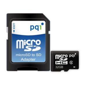 PQI Micro SDHC Class 4/6/10