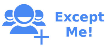 اپلیکیشن ExceptMe لیست مخاطبین