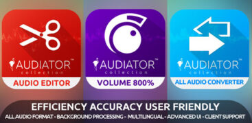 اپلیکیشن ویرایش و افزایش صدا -MP3 VOLUME BOOST GAIN LOUD PRO