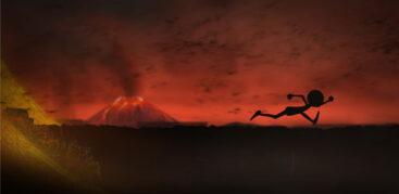 بازی دونده آخرالزمان Apocalypse Runner 2: Volcano