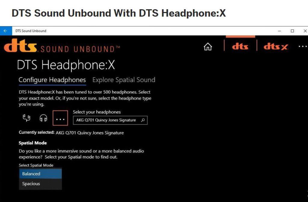 DTS Headphone:X هدفون dts