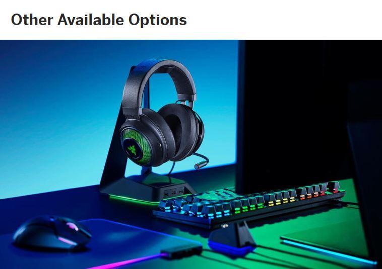 Dolby ، DTS ، Sonic ، Razer ، CMSS-3D گیمینگ هدفون