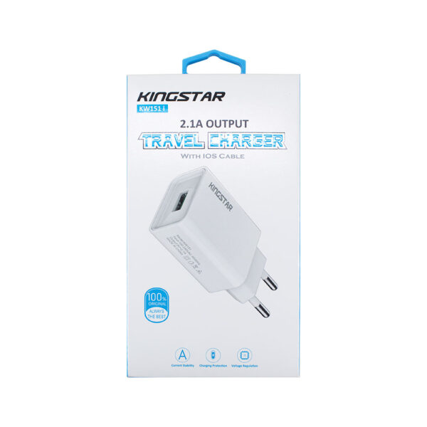Wall charger KW151 i کینگ استار