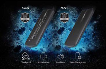 SSD های اکسترنال اپیسر مدل های AS721 & AS722